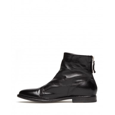Women's Ankle Boots MOMA 1CS024-FL Florence Nero Leather Black