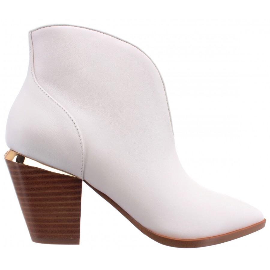 Women's Ankle Boots LIU JO Milano Jade 01 Leather White