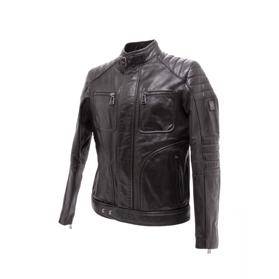 Men's Jackets BELSTAFF Weybridge 71020874 Black Leather