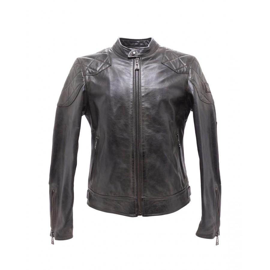 Men's Jacket BELSTAFF 71020820 Outlaw 20 Black Leather