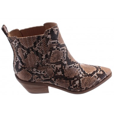 Women's Ankle Boots GUESS FL5NE2PEL10 Camel Synthetic Brown