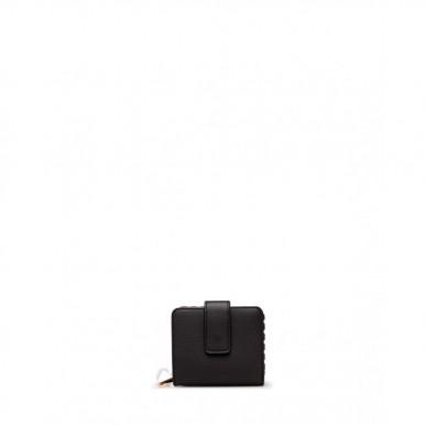 Women's Wallet LIU JO Milano AA1009 E0031 Nero Synthetic Leather Black