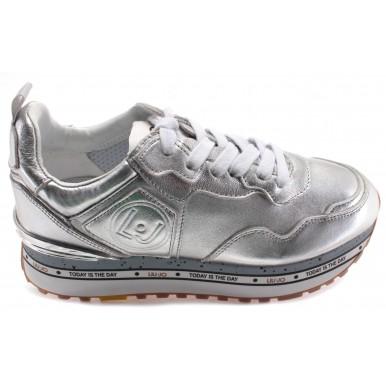Women's Sneakers LIU JO Milano Maxi Alexa Silver Synthetic Silver