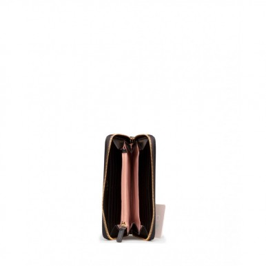 Women's Wallet LIU JO Milano AA1120 E0017 Nero Synthetic Leather Black
