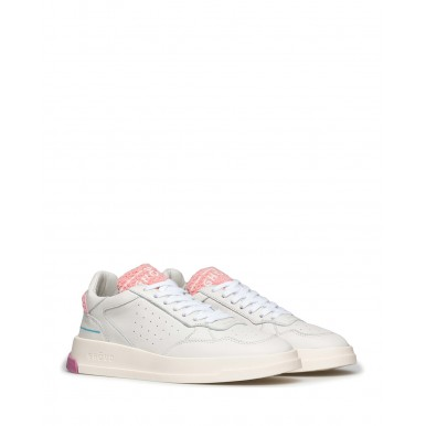 Women's Shoes Sneakers GHOUD Venice TWLW CS07 Off WPink Leather White
