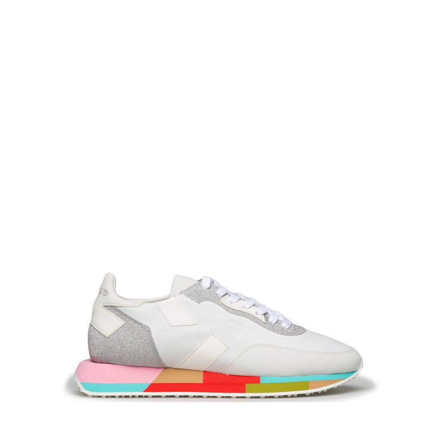 Women's Shoes Sneakers GHOUD Venice RMLW LG03 Wht Wht Leather White